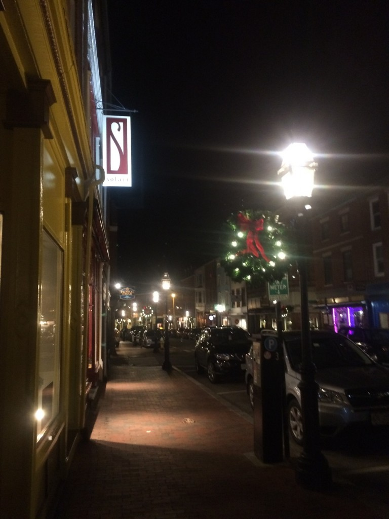 Portsmouth, New Hampshire at Night